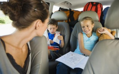 New Research Shows Parents Distracted by Kids in Cars